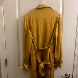 928327b3d8 Theory Jackets & Coats | Oaklane Silk Trench Coat Size Small | Poshmark
